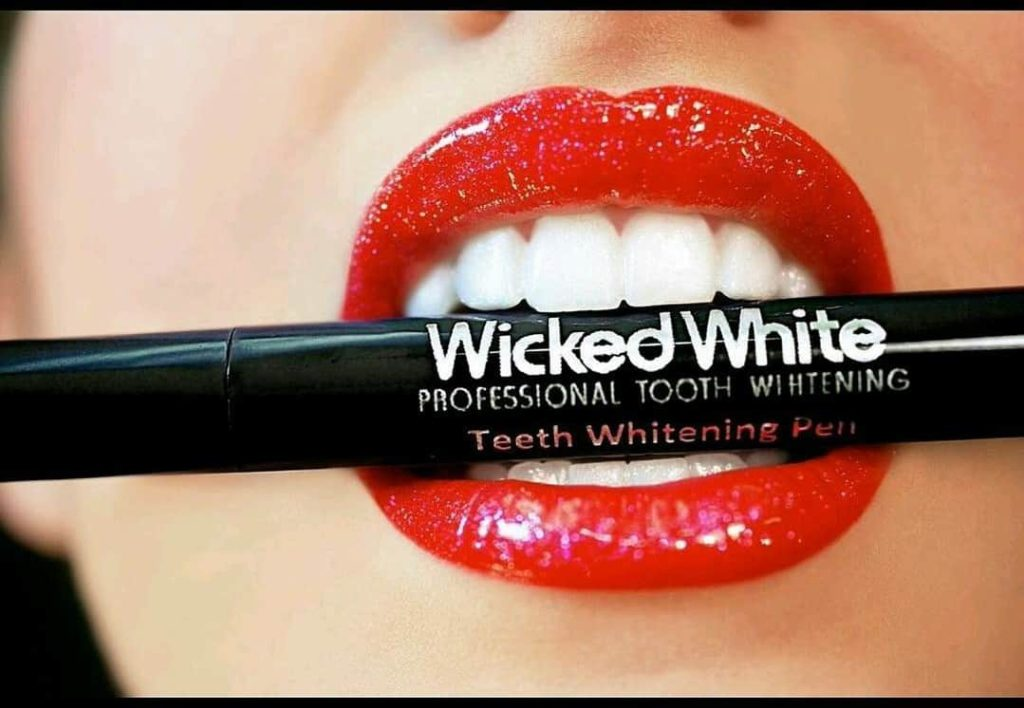 Wicked white tooth whitening